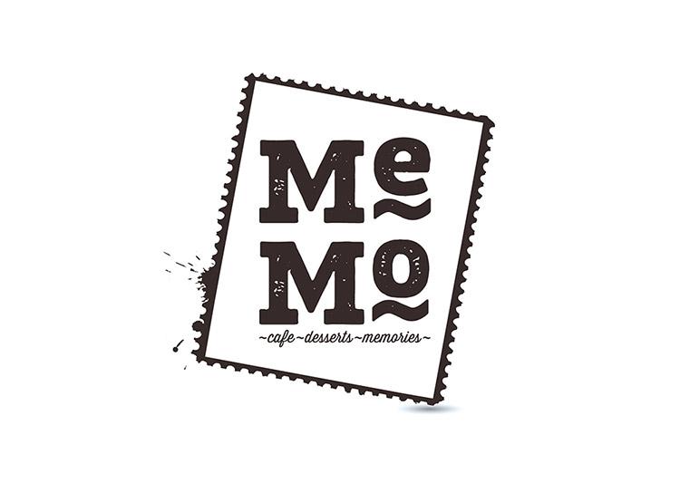 Логотип кафе Memo