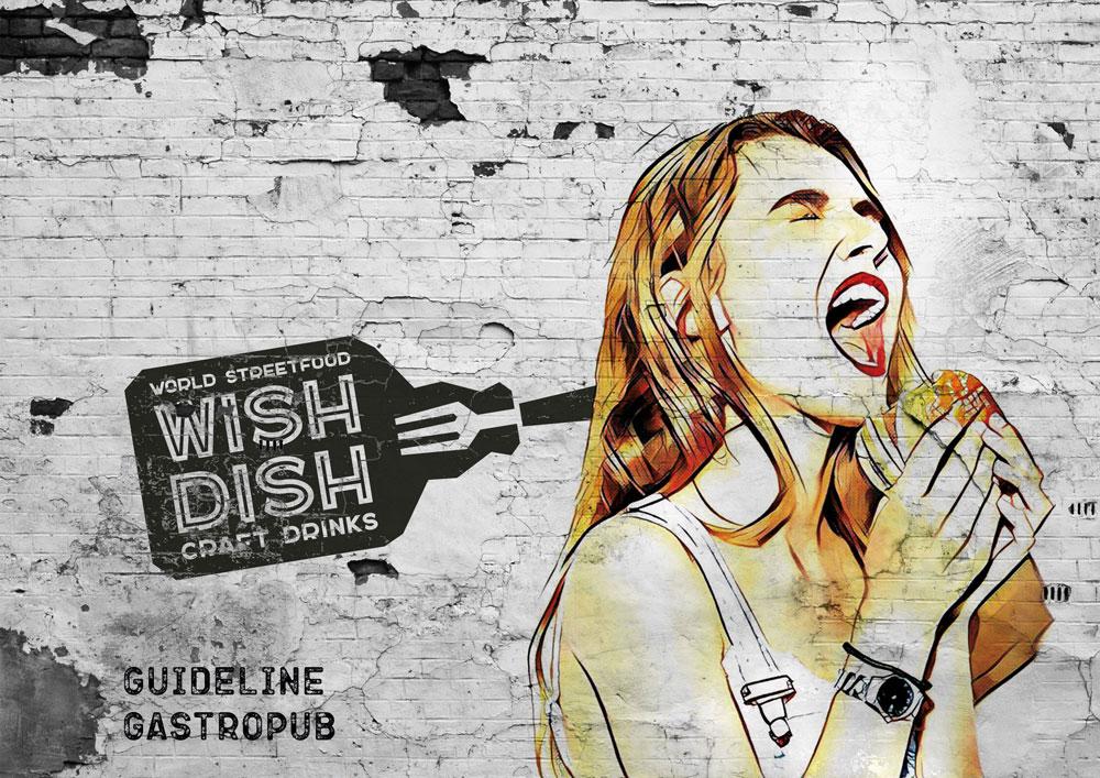 Брендбук гастропаба WishDish