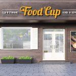 Вывеска Food Cup