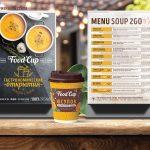 Тейбл-тент Food Cup