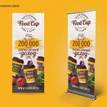 Roll Up Food Cup