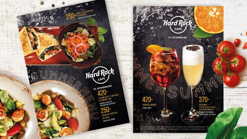 Летнее меню Hard Rock Cafe
